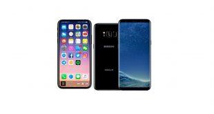 مقایسه دو گوشی Galaxy S8 و iPhone X